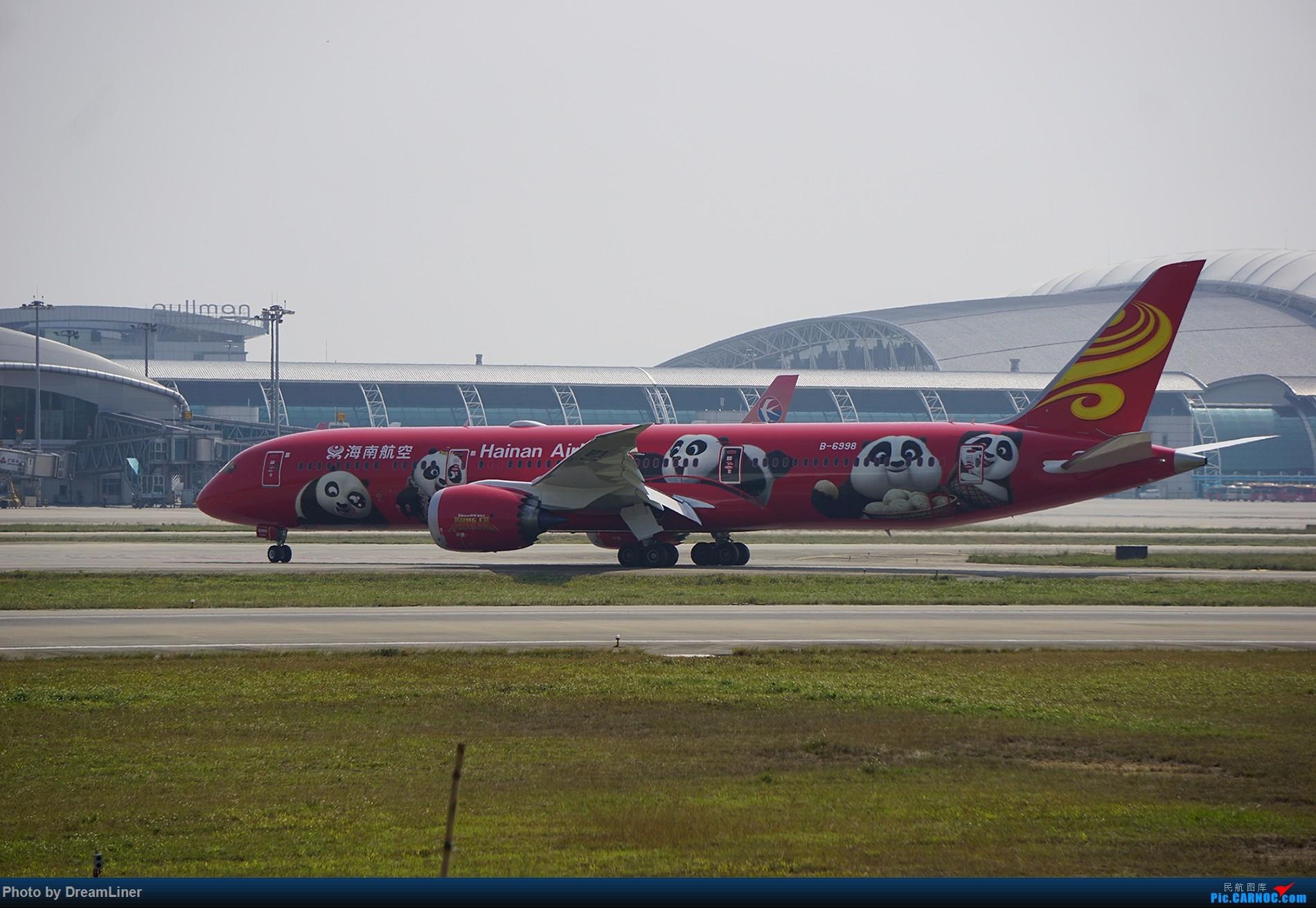 Re:[原创]【随便发几张】2016.02.11CAN拍机 BOEING 787-9 B-6998 中国广州白云国际机场