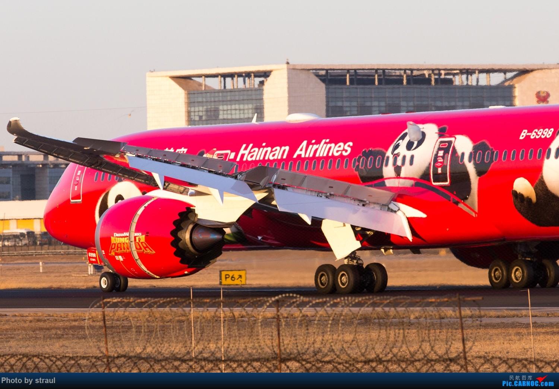 Re:[原创]「多图多机」美航789 / 全日空星战 / 及其他 BOEING 787-9 B-6998 中国北京首都国际机场