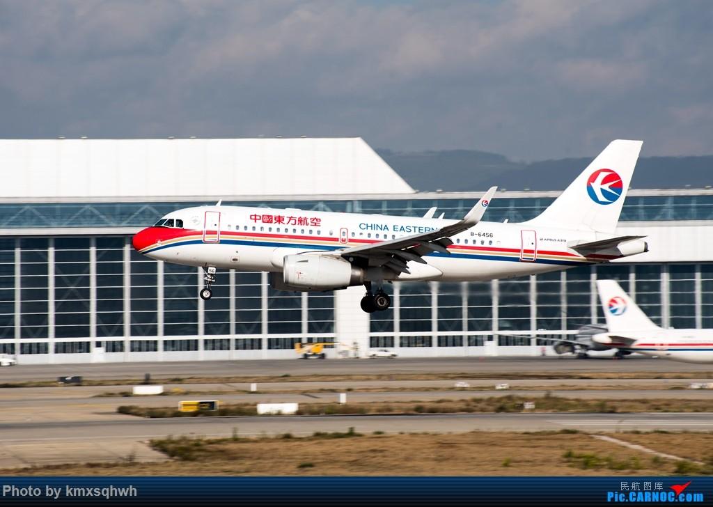 [原创]新人首次发图,请各位飞友指点 AIRBUS A319-100 B-6456 昆明长水机场
