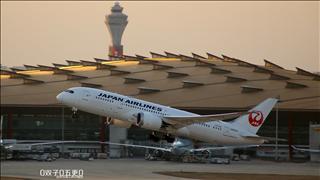 【PEK 01】南向起飞几张 日航787 加航777等