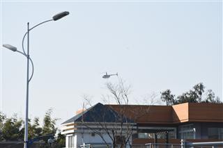 Re:滇池上空的直升机