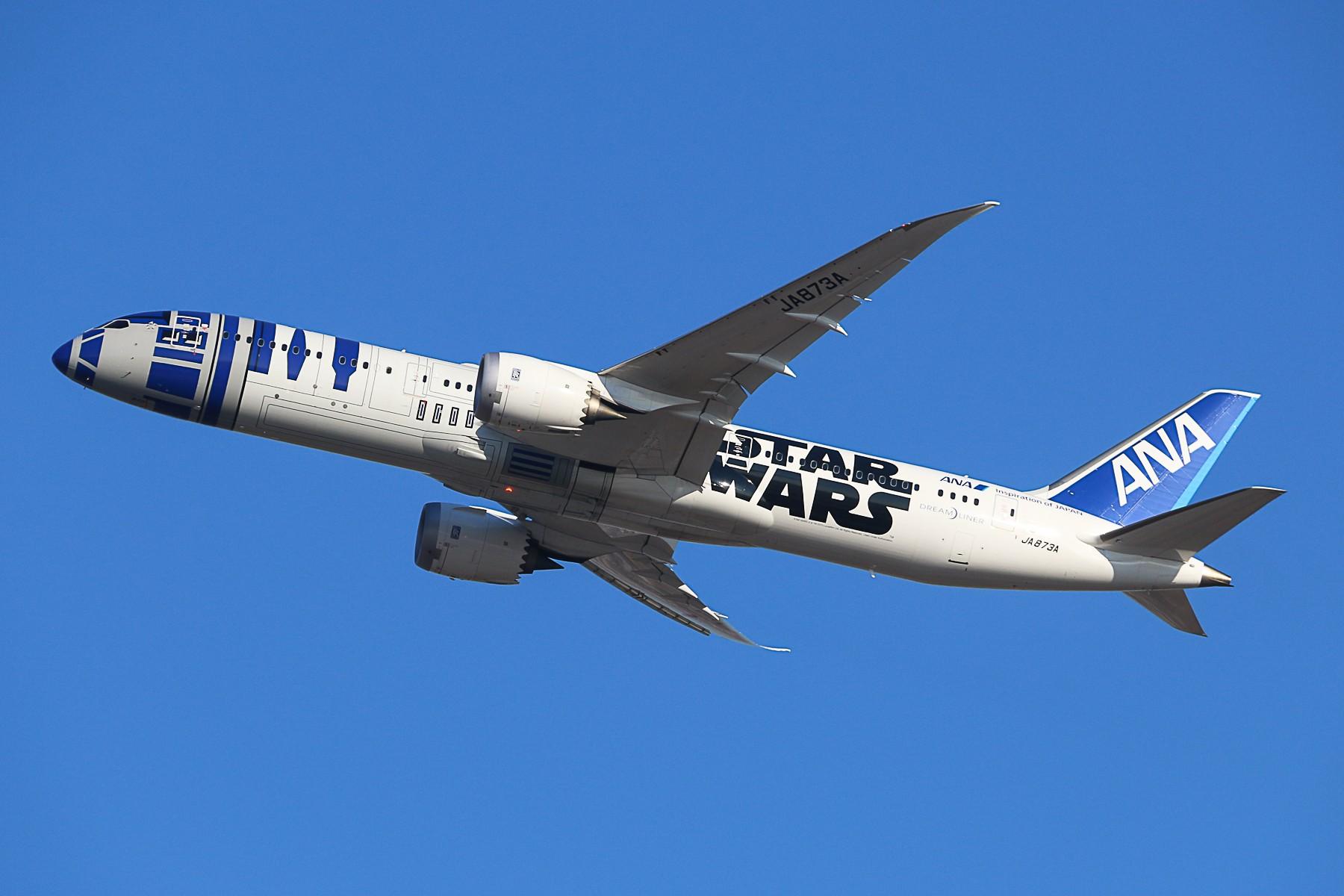 [原创]全日空星球大战 彩绘 BOEING 787-9 JA873A 中国北京首都国际机场
