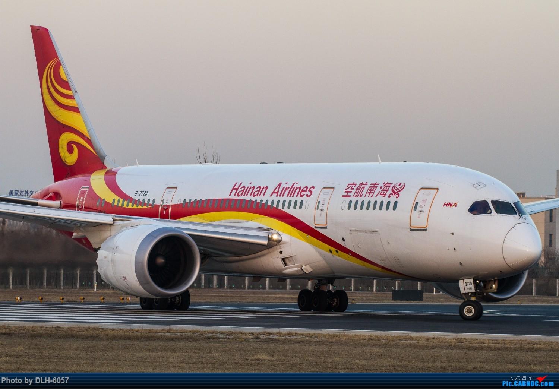 Re:[原创]螃蟹 BOEING 787-8 B-2729 中国北京首都国际机场