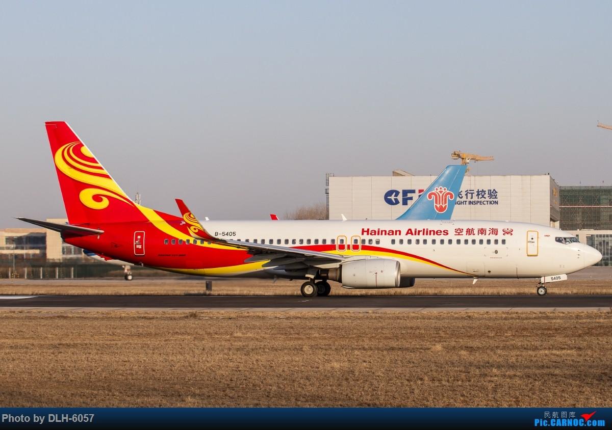 Re:[原创]螃蟹 BOEING 737-800 B-5405 中国北京首都国际机场