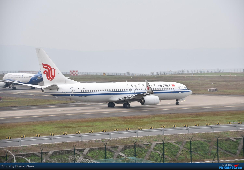 [原创]重庆江北国际机场 拍摄 BOEING 737-800 B-1763 中国重庆江北国际机场