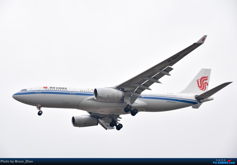 [原创]重庆江北国际机场拍摄 国航A330-200 AIRBUS A330-200 B-6117 中国重庆江北国际机场