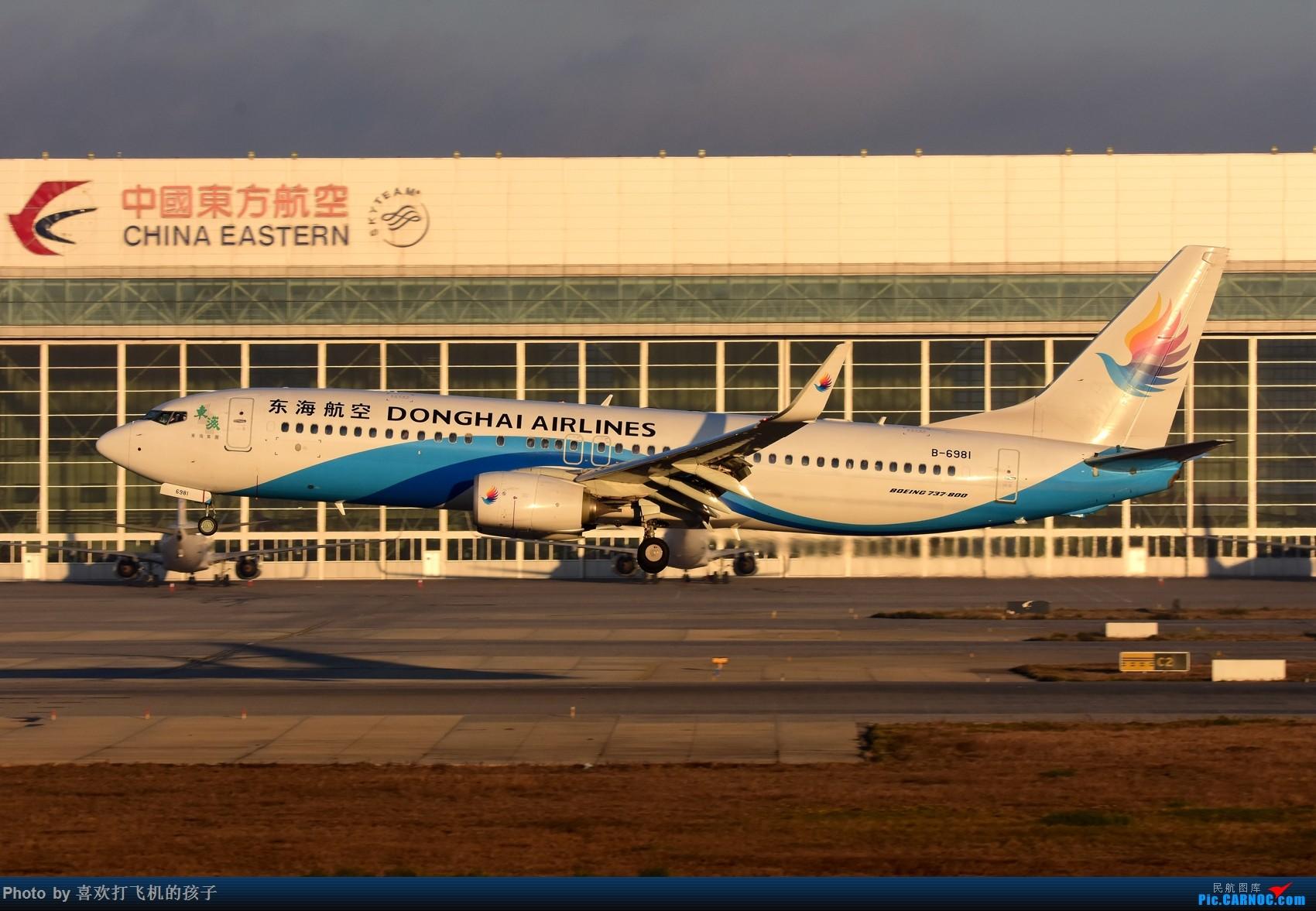 Re:[原创]【机机的飞飞】 KMG昆明长水,年初存货 BOEING 737-800 B-6981 中国昆明长水国际机场