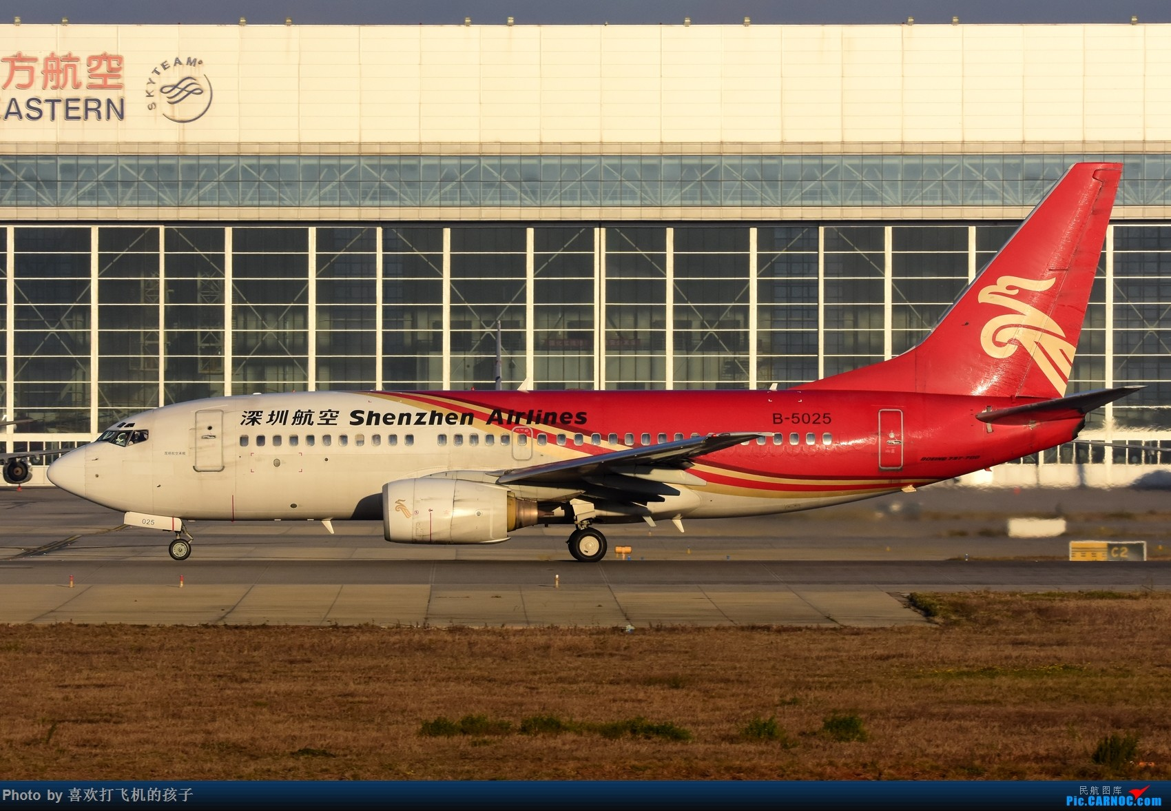 Re:[原创]【机机的飞飞】 KMG昆明长水,年初存货 BOEING 737-700 B-5025 中国昆明长水国际机场