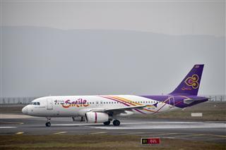 泰國微笑航空 重慶實拍