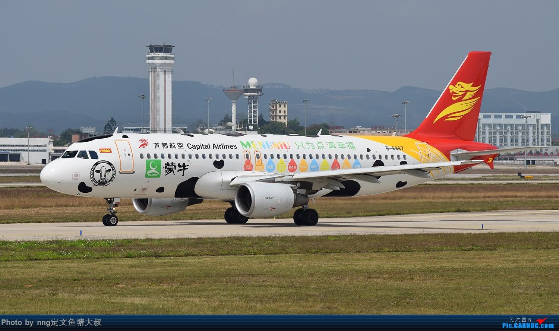 Re:[原创]稀客蛇鸟,泰东763降临nng AIRBUS A320-200 B-6867 中国南宁吴圩国际机场