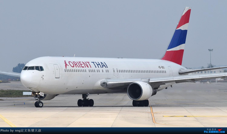 Re:[原创]稀客蛇鸟,泰东763降临nng BOEING 767-300 HS-BKI 中国南宁吴圩国际机场