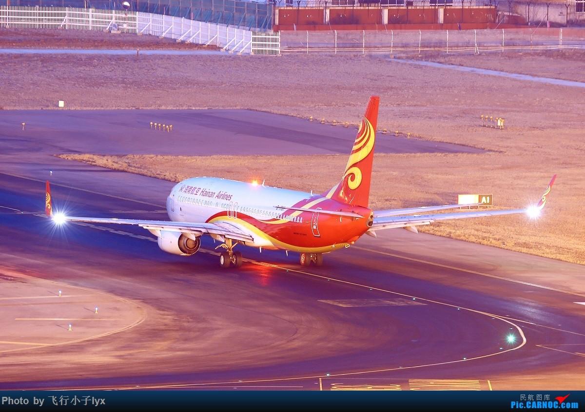 Re:[原创]小夜景十张 BOEING 737-800 B-1787 中国大连国际机场