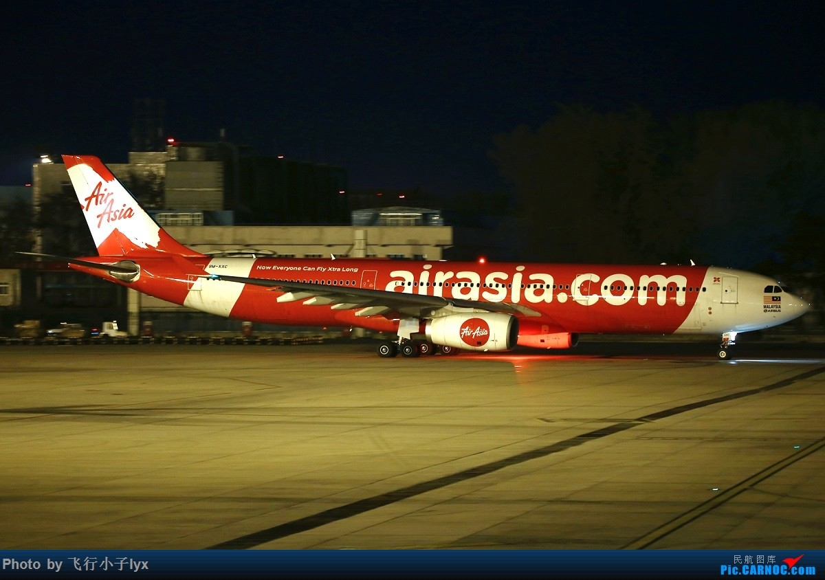 Re:[原创]小夜景十张 AIRBUS A330-300 9M-XXC 中国北京首都国际机场