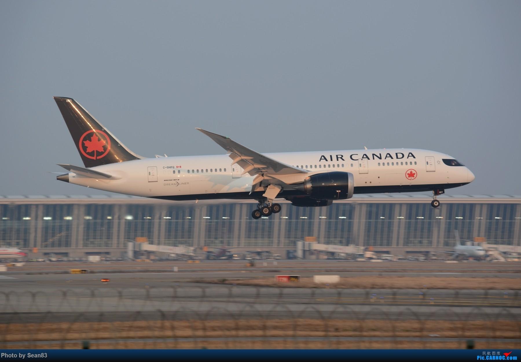 [原创](浦东)加航新涂装以及一些常规货 BOEING 787-8 C-GHPQ 上海浦东国际机场