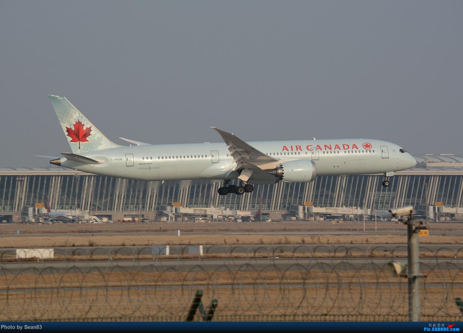 Re:[原创](浦东)加航新涂装以及一些常规货 BOEING 787-9 C-FPQB 上海浦东国际机场