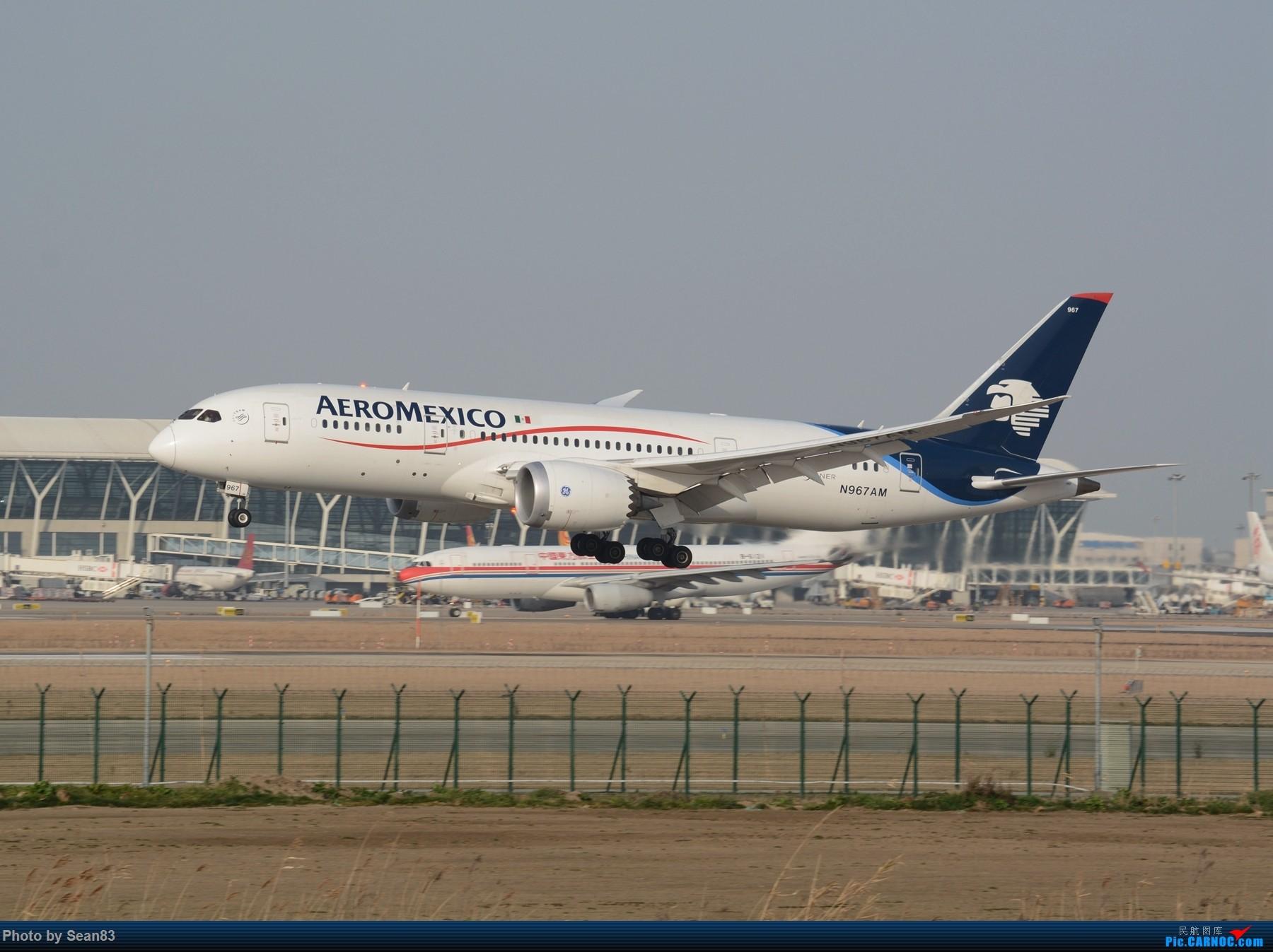 Re:[原创](浦东)加航新涂装以及一些常规货 BOEING 787-8 N967AM 上海浦东国际机场