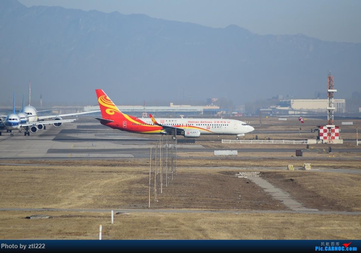 Re:[原创]【天天拍机1】正月15去PEK拍机,没白去,,稀货好货,,一起上 BOEING 737-800 B-5835 中国北京首都国际机场
