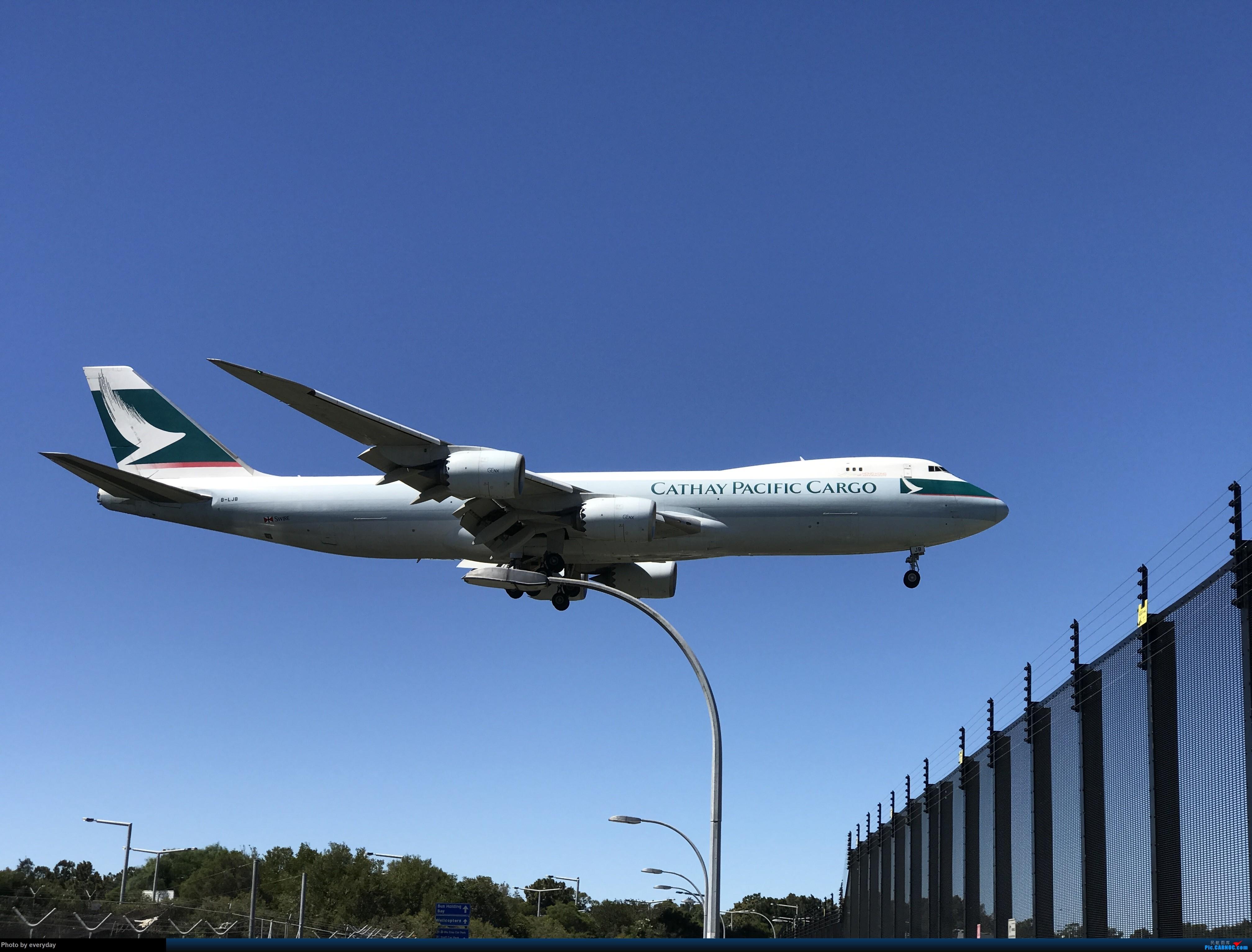 Re:[原创]YSSY 07/25 Runway BOEING 747-8I B-LJB 澳大利亚悉尼金斯福德·史密斯机场