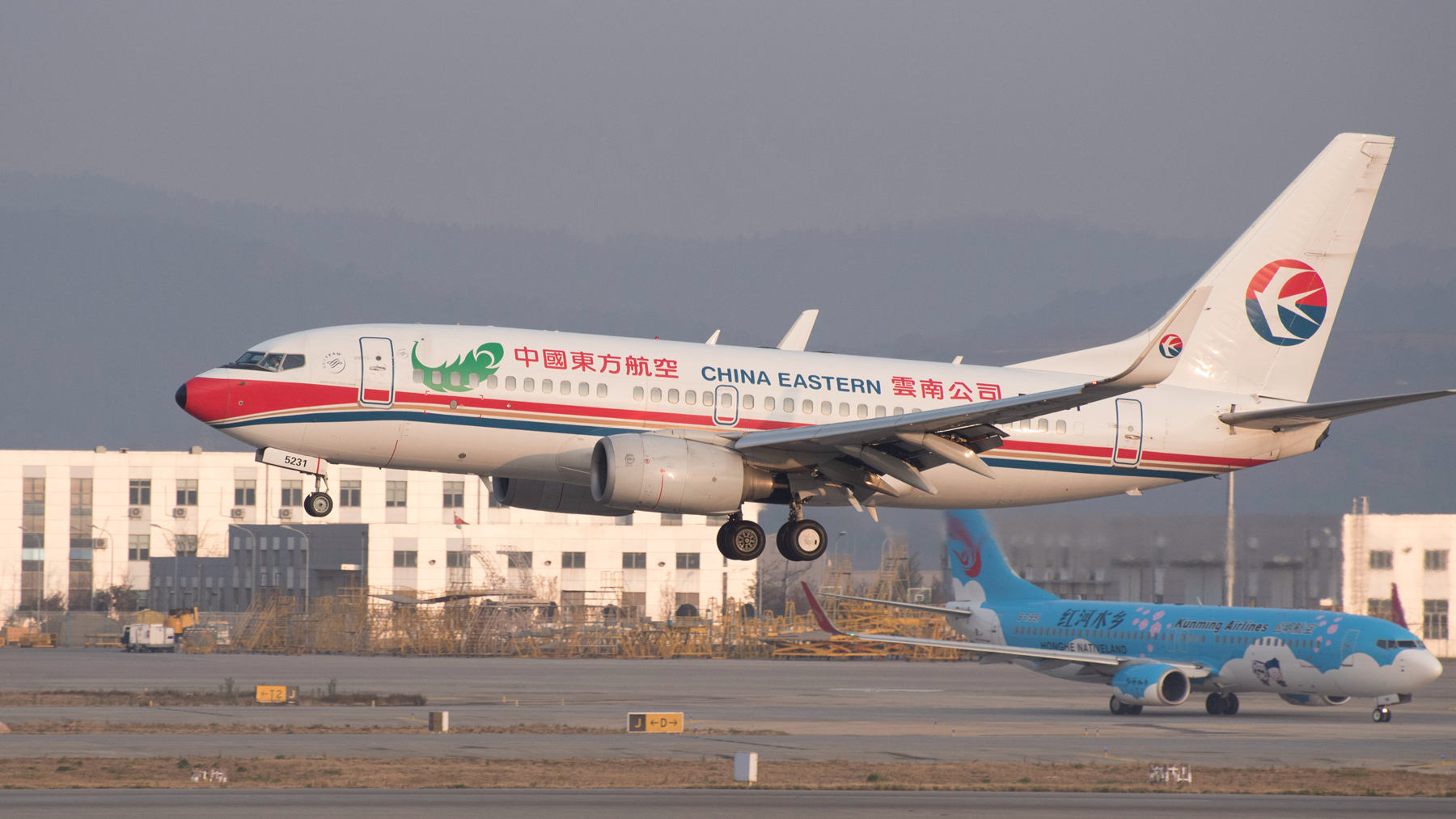 Re:[原创]长水拍机 BOEING 737-700 B-5231 长水机场