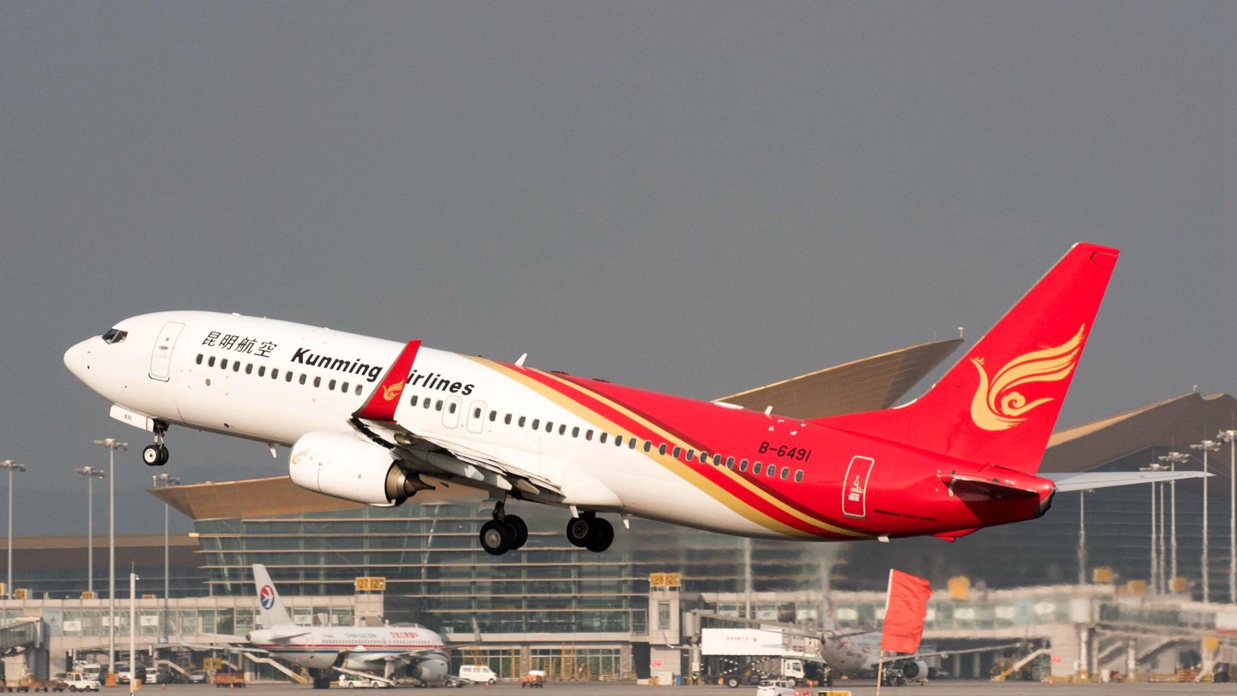 Re:[原创]长水拍机 BOEING 737-800 B-6491 昆明长水机场