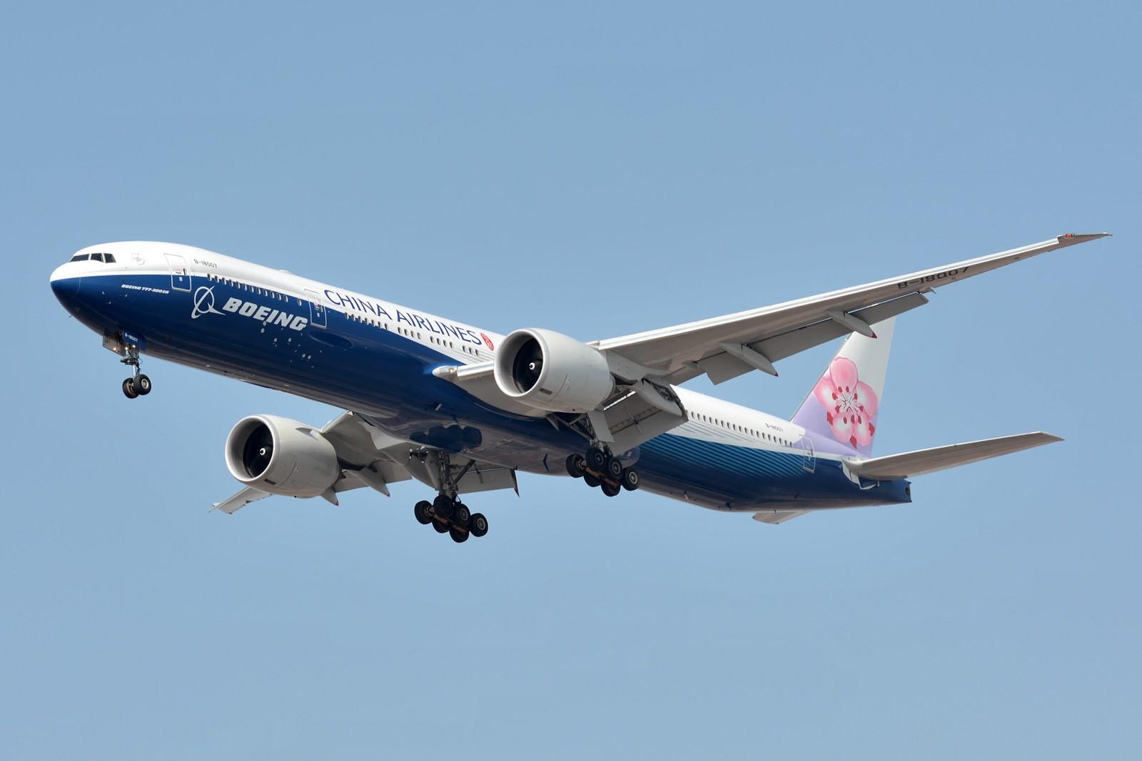 [原创]【PVG】两架77W BOEING 777-300ER B-18007 中国上海浦东国际机场