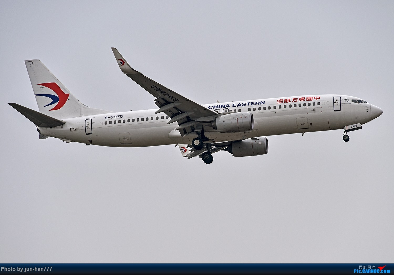 Re:[原创]灰蒙蒙的飞机 BOEING 737-800 B-7375