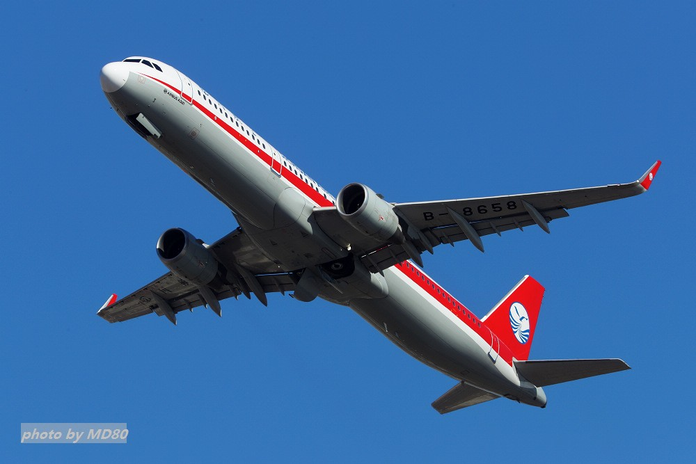 Re:[原创][DLC外场]这两天的大连是好天气 AIRBUS A321-200 B-8658 中国大连国际机场