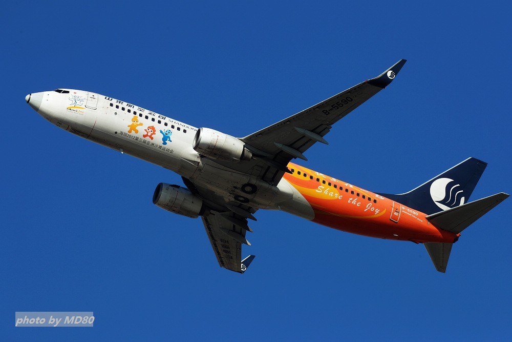 Re:[原创][DLC外场]这两天的大连是好天气 BOEING 737-800 B-5590 中国大连国际机场