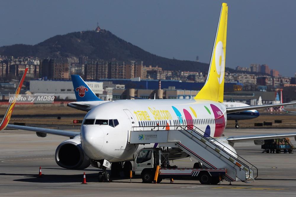 Re:[原创][DLC外场]这两天的大连是好天气 BOEING 737-800 B-6989 中国大连国际机场