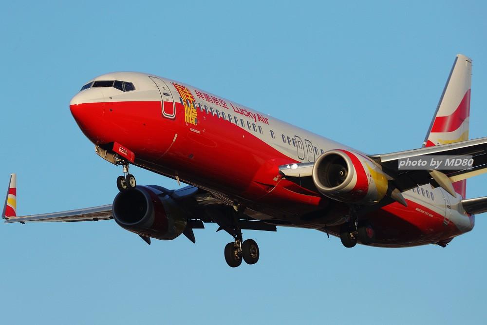 Re:[原创][DLC外场]这两天的大连是好天气 BOEING 737-800 B-6800 中国大连国际机场