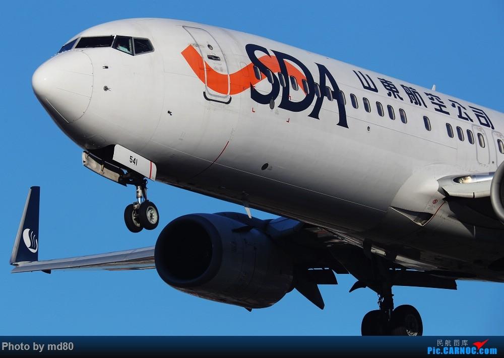 Re:[原创][DLC外场]这两天的大连是好天气 BOEING 737-800 B-5541 中国大连国际机场