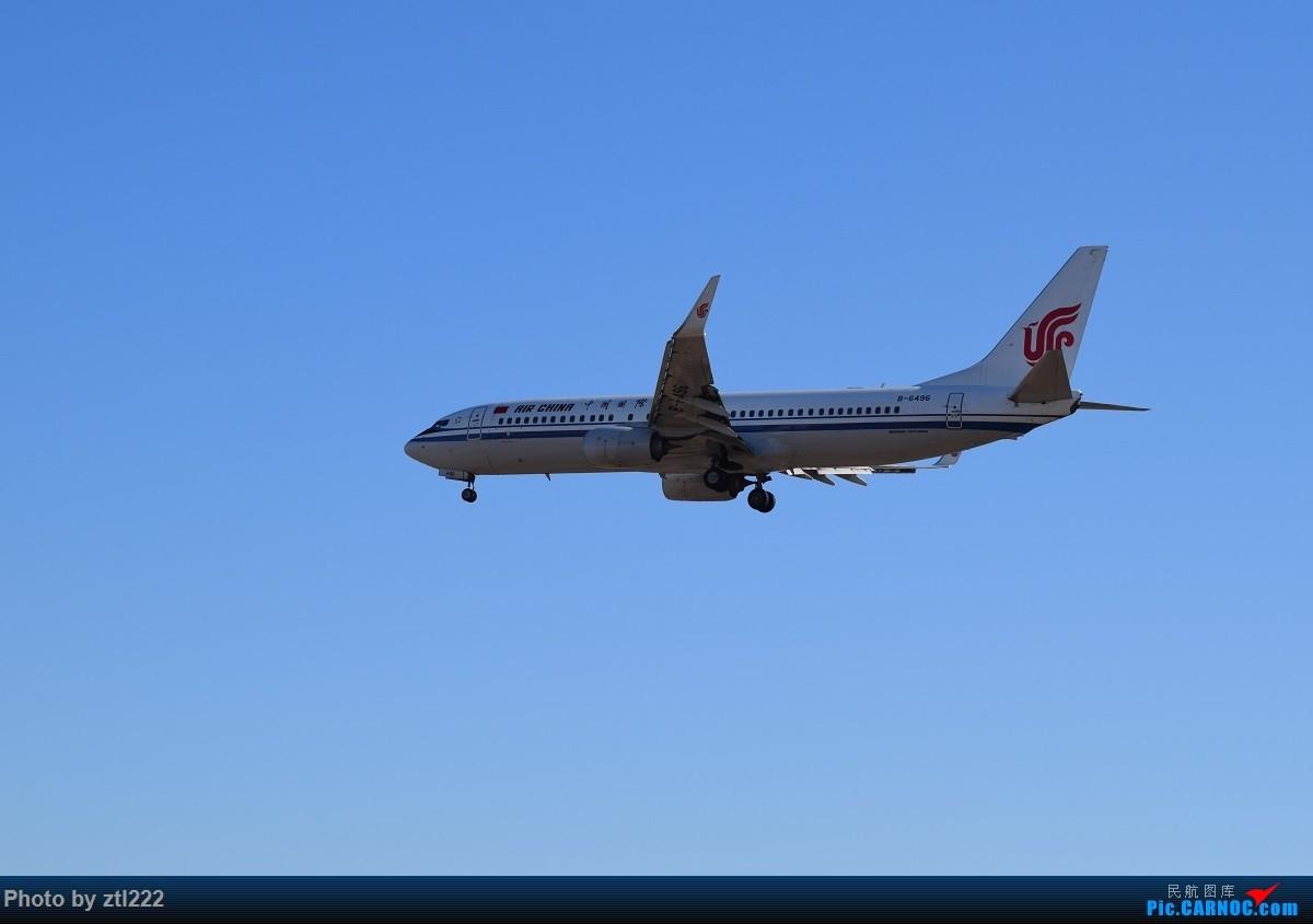 Re:[原创]【天天拍机1】正月15去PEK拍机,没白去,,稀货好货,,一起上 BOEING 737-800 B-6496 中国北京首都国际机场