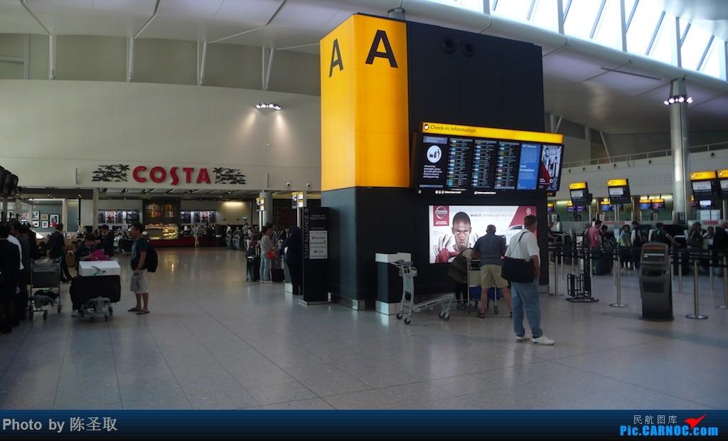 Re:[原创]【Kris游记35】迟来系列14,再飞爱琴海航空,一揽圣托里尼的圣洁之美    英国伦敦希思罗机场