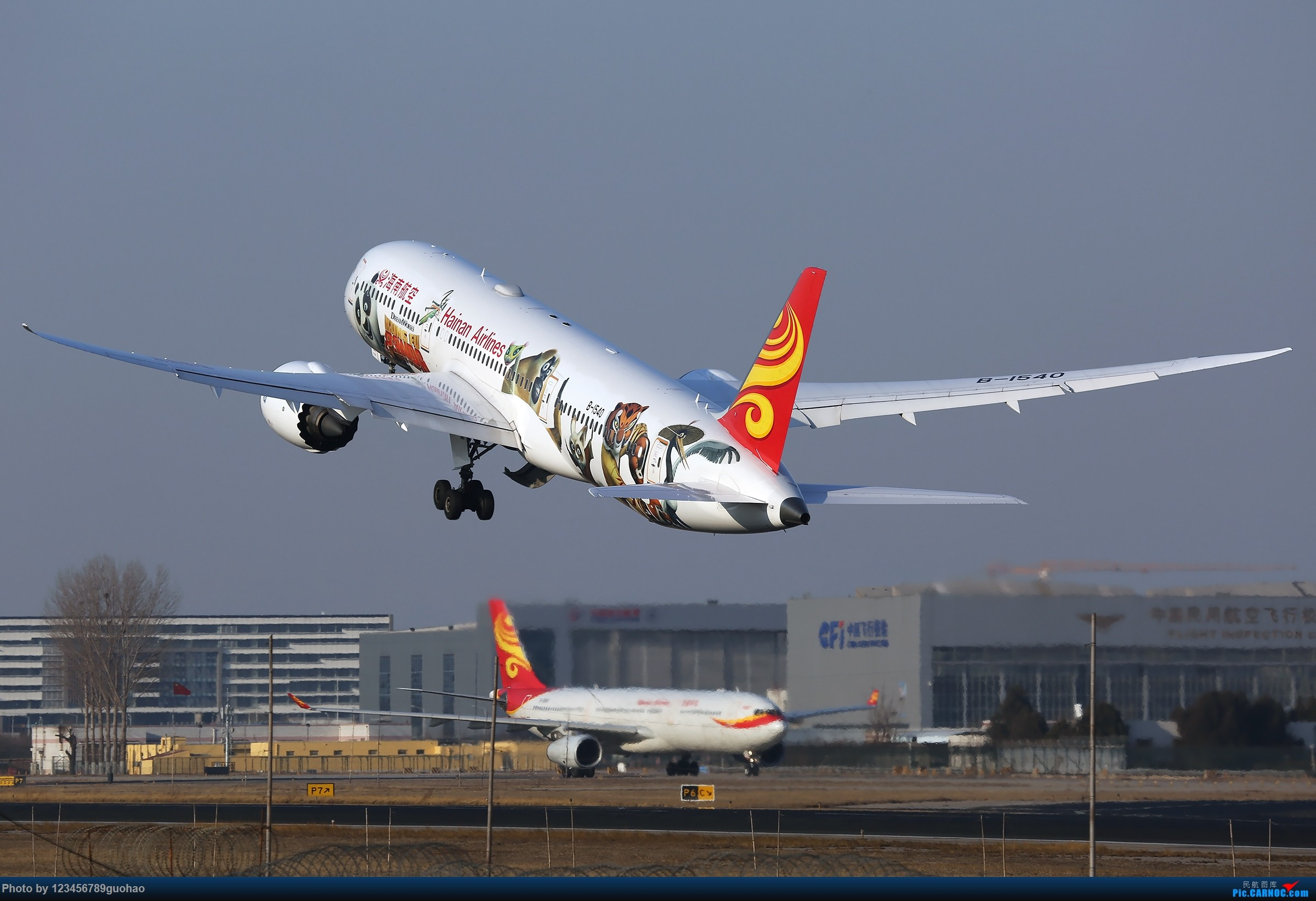 Re:[原创]海南白熊猫迎来送往 BOEING 787-9 B-1540 北京首都国际机场