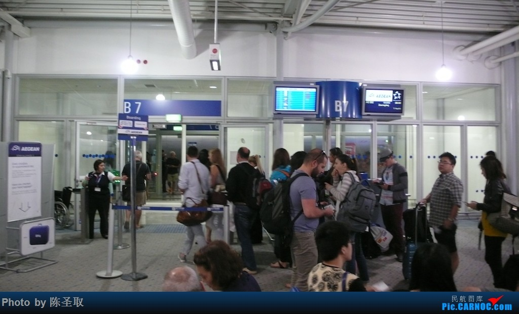 Re:[原创]【Kris游记35】迟来系列14,再飞爱琴海航空,一揽圣托里尼的圣洁之美    希腊雅典国际机场