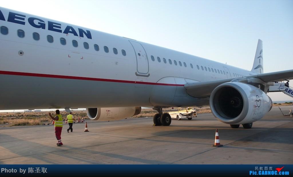Re:[原创]【Kris游记35】迟来系列14,再飞爱琴海航空,一揽圣托里尼的圣洁之美 AIRBUS A321-231 SX-DVZ 希腊圣托里尼机场