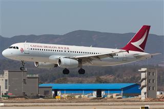Re:【KMG】国泰港龙航空(Cathay Dragon) 红烧鱼翅 B-HSM A320