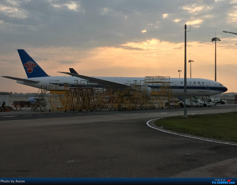 Re:[原创]【Auran游记4】南航明珠头等舱体验 BOEING 777-300ER B-2029 中国广州白云国际机场