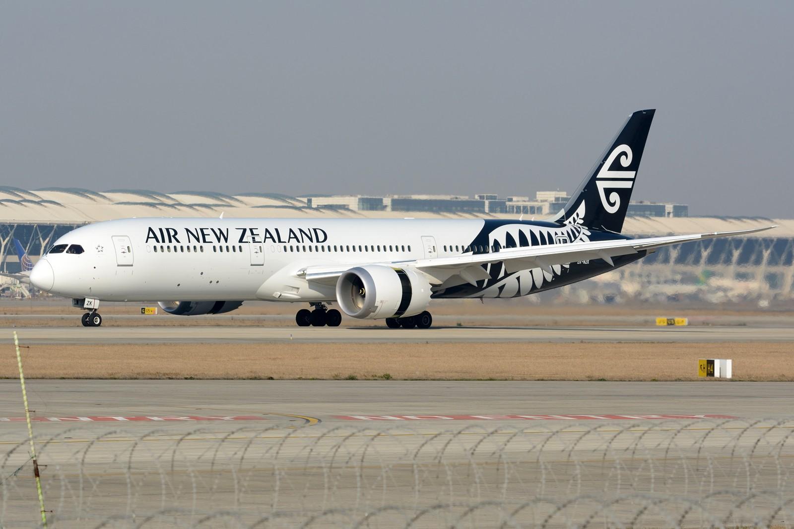 [原创]【PVG】PVG日常之787 BOEING 787-9 ZK-NZK 中国上海浦东国际机场