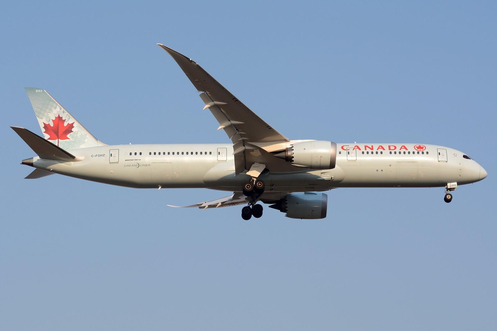 Re:[原创]【PVG】PVG日常之787 BOEING 787-9 C-FGHZ 中国上海浦东国际机场
