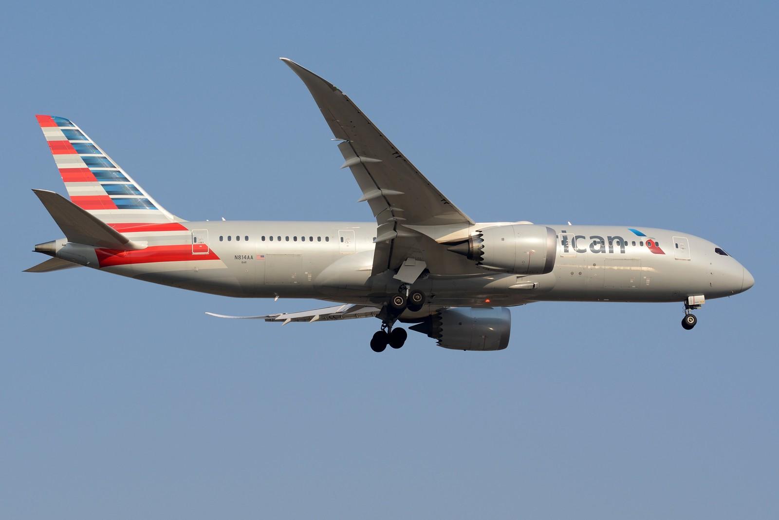 Re:[原创]【PVG】PVG日常之787 BOEING 787-8 N814AA 中国上海浦东国际机场