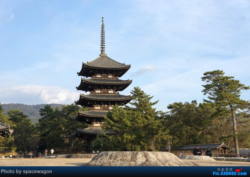 兴福寺五重塔,古都奈良的象征