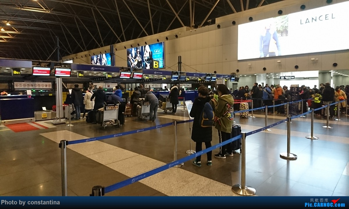 Re:[原创]【Constantina】高加索行1(阿塞拜疆见闻)    中国北京首都国际机场
