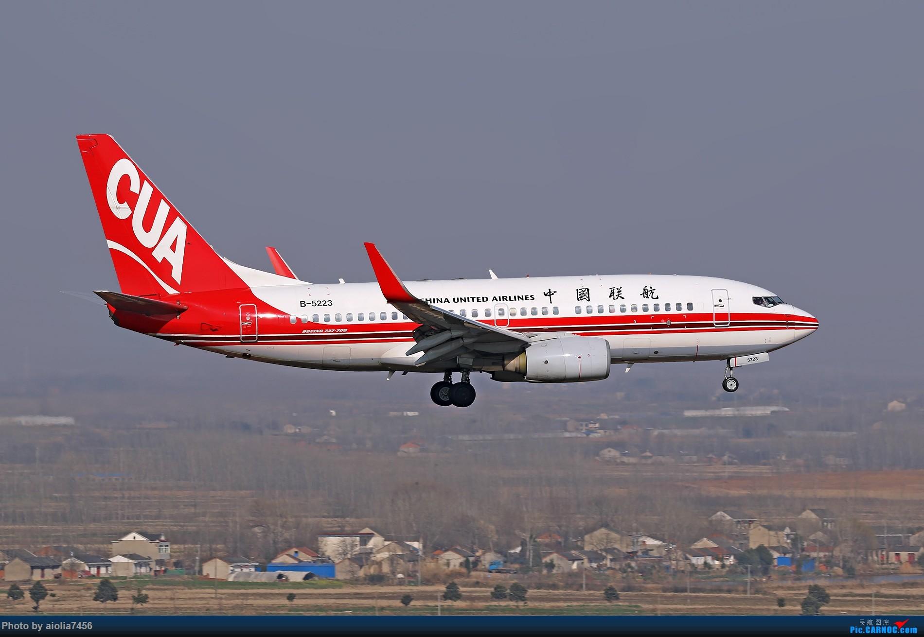 Re:[原创]【合肥飞友会】[霸都打鸡队]好吧,算是我偷懒没发帖。。。但是塔台和雷达塔的日常一次都不能少 BOEING 737-700 B-5223 中国合肥新桥国际机场