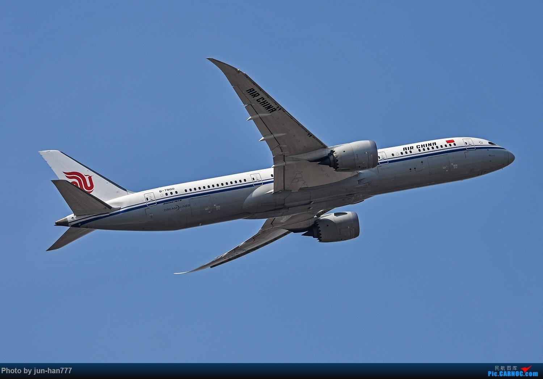 Re:[原创]进离场的飞机 BOEING 787-9 B-7800