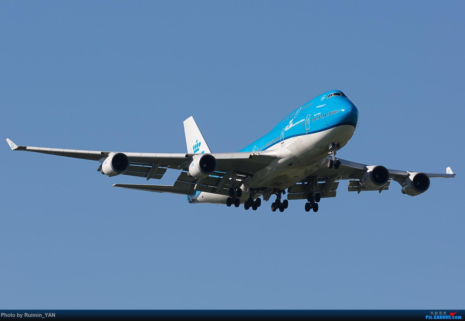 [原创]【PEK】【新装】荷兰皇家航空(KL,KLM Royal Dutch Airlines) PH-BFT B744 BOEING 747-400 PH-BFT 中国北京首都国际机场