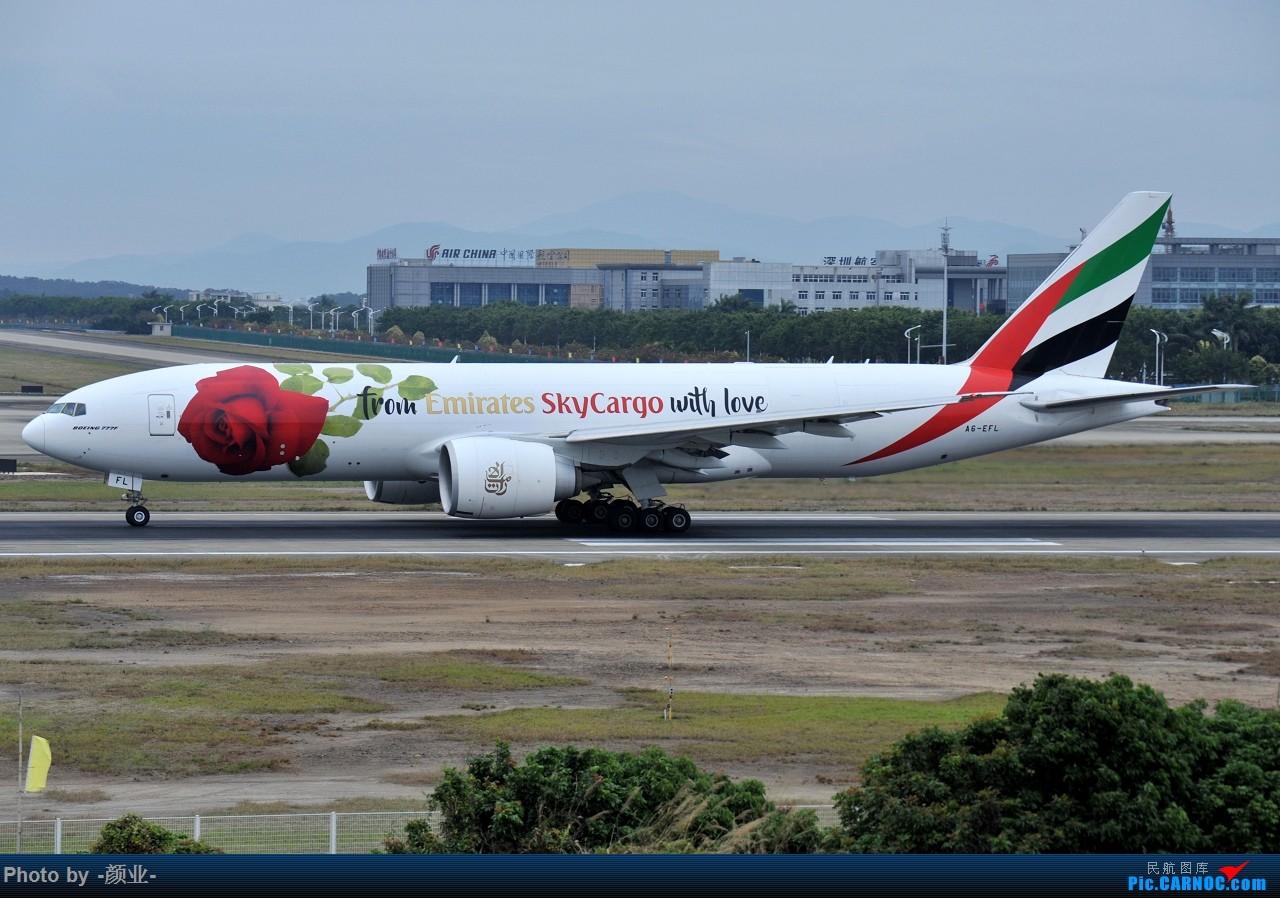 Re:[原创]ZGGG(广州CAN)的波音777系列-继续更新 BOEING 777-200 A6-EFL 中国广州白云国际机场