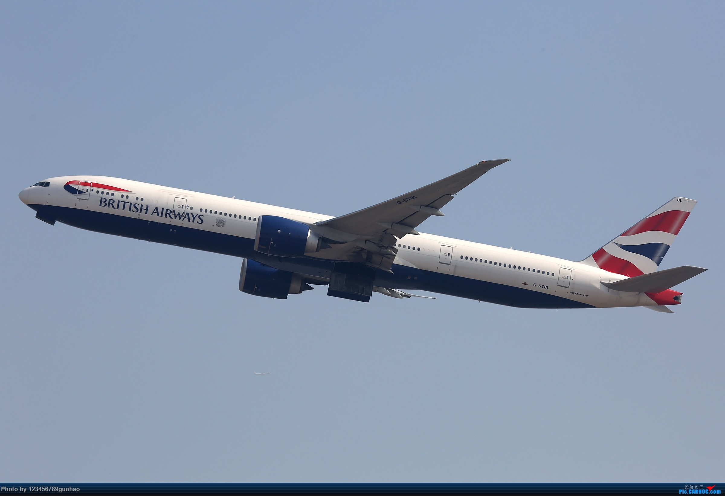 Re:[原创]杂图 BOEING 777-300ER G-STBL 北京首都国际机场