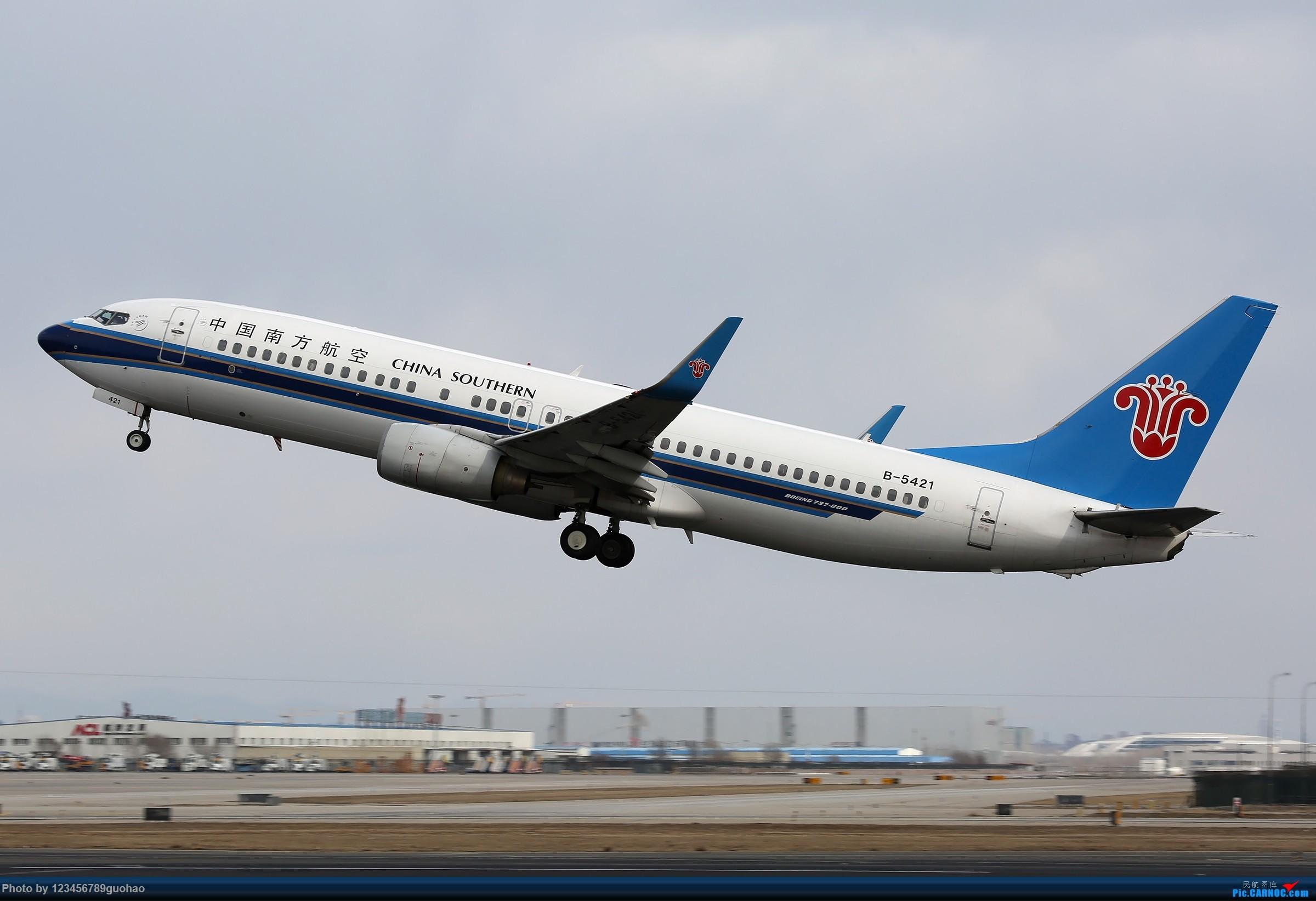 Re:[原创]杂图 BOEING 737-800 B-5421 北京首都国际机场