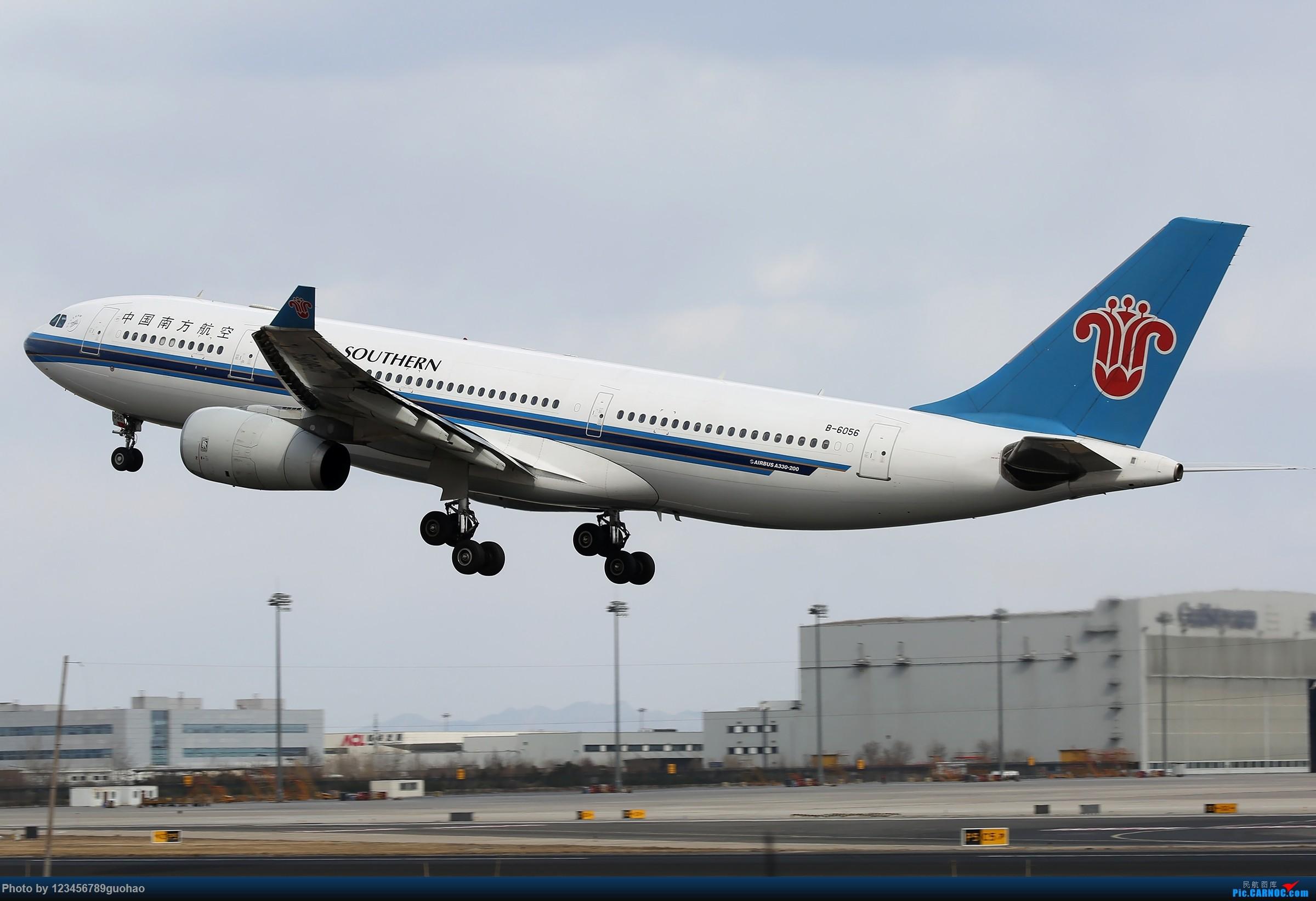 Re:[原创]杂图 AIRBUS A330-200 B-6056 北京首都国际机场